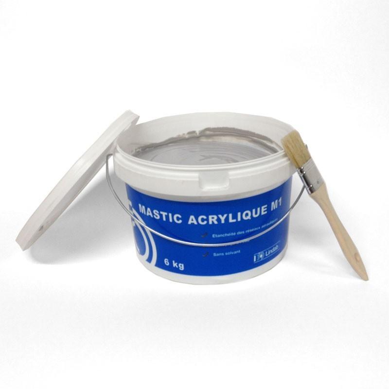 Pot de 6Kg de Mastic Acrylique