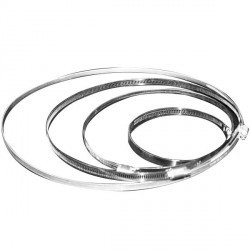 Collier de serrage rapide pour gaines de Ø 80-100-125 mm