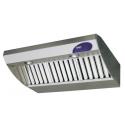Hotte de cuisine 2V, largueur 900 mm, débit 1000 m3/h
