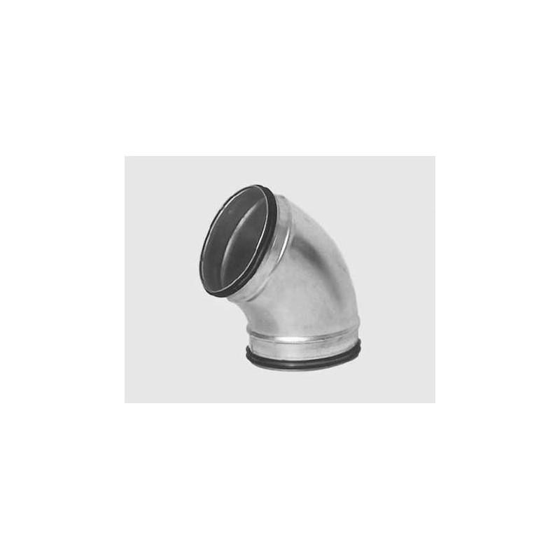 Coude 45° D.125 mm à joints