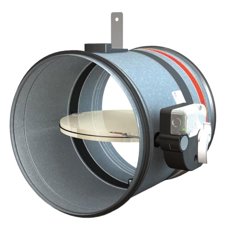 Clapet coupe-feu 2H D.125mm