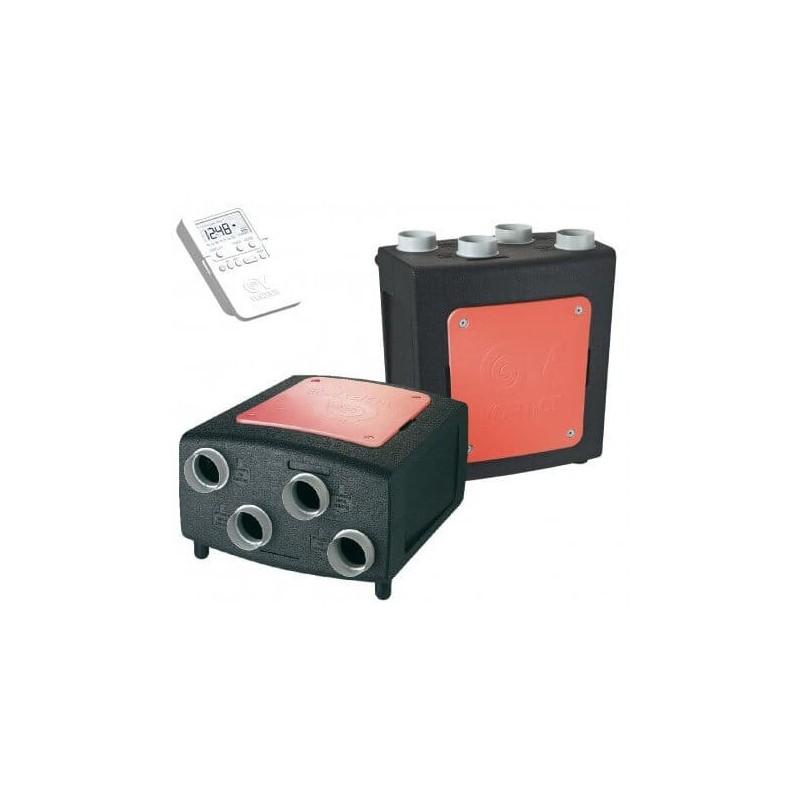 VMC Double Flux autoréglable PROMETEO HR 400 Plus