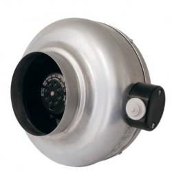 Ventilateur de gaine circulaire monophasé 230 V