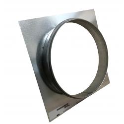 Platine virole à joint - Ø 160 à 400 mm
