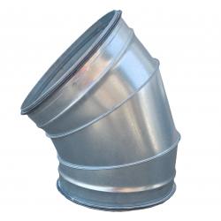 Coude 45° à joints - Ø 125 à 400 mm