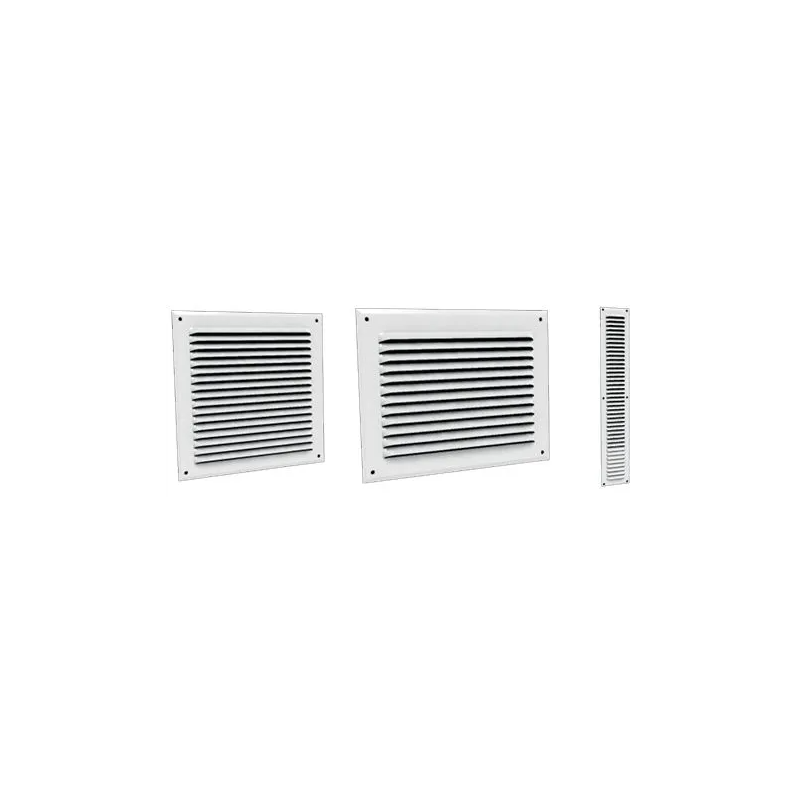 GABL - Grille plate blanche