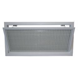 KMDIF - Grille reprise ailettes 45 ° + filtre