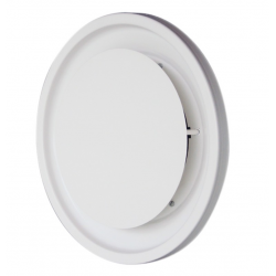 Diffuseur circulaire disque RAL 9010 - DCDU