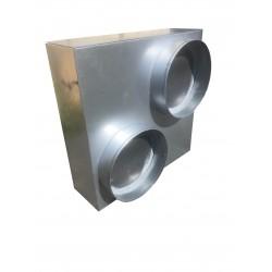 Plénum isolé 500 x 400 mm