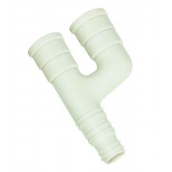 Raccord Y pour tube condensats