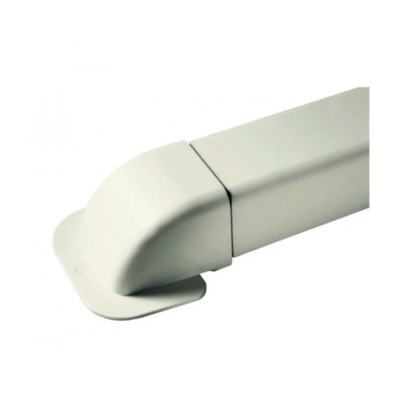 Amorce de mur pour goulottes