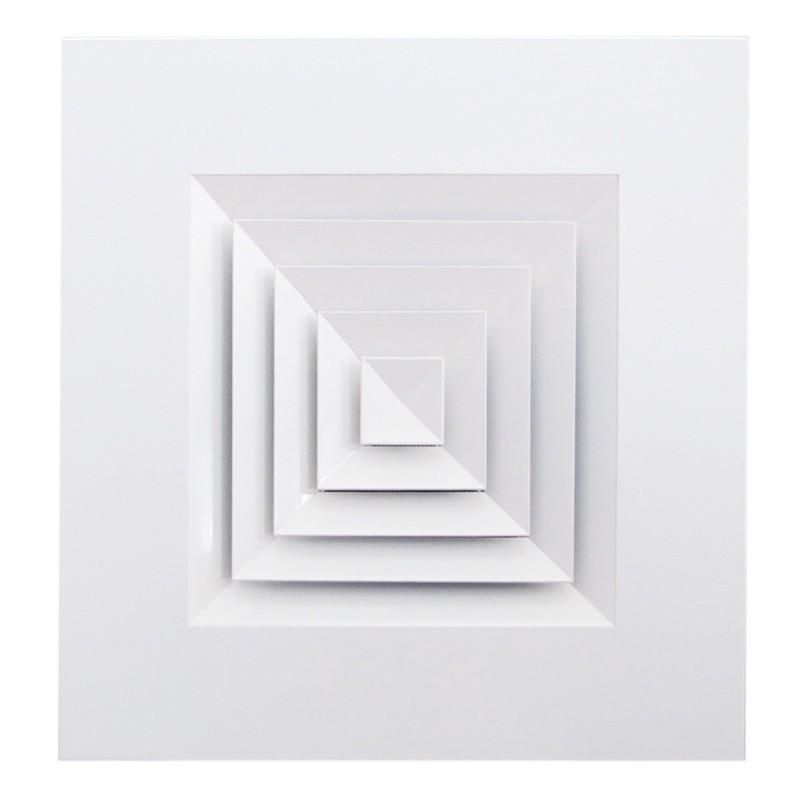 Diffuseurs carrés en alu
